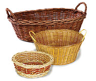 2-3 	Bowls & Packaging Baskets
