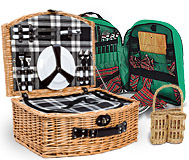34-35 	Picnic Baskets & Accessories©