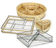 4-5 	Sectional Trays & Wire Baskets©